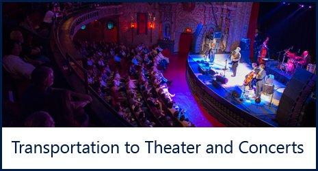 Theater and Concert Transportation